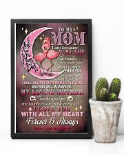 TO MY MOM - FLAMINGO - THANK YOU 16x24 Poster lifestyle-poster-8
