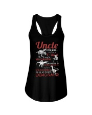 T-SHIRT - TO UNCLE - FAVORITE DINOSAUR Ladies Flowy Tank thumbnail