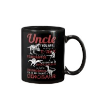 T-SHIRT - TO UNCLE - FAVORITE DINOSAUR Mug thumbnail