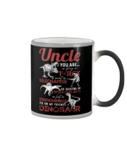 T-SHIRT - TO UNCLE - FAVORITE DINOSAUR Color Changing Mug thumbnail