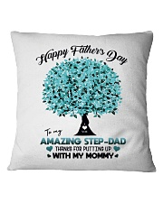 DAUGHTER TO STEPDAD Square Pillowcase thumbnail