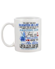 MOM TO DAUGHTER IN LAW Mug back