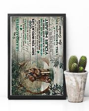 To Granddaughter - I Am Always Right There 16x24 Poster lifestyle-poster-8