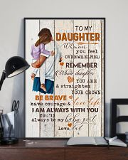TO MY DAUGHTER - HUGGING - WHENEVER YOU FEEL 16x24 Poster lifestyle-poster-2