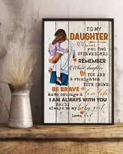 TO MY DAUGHTER - HUGGING - WHENEVER YOU FEEL 16x24 Poster lifestyle-poster-3