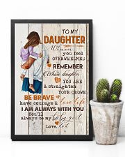 TO MY DAUGHTER - HUGGING - WHENEVER YOU FEEL 16x24 Poster lifestyle-poster-8