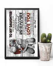 To Daughter - Hugging - Never Feel That You  16x24 Poster lifestyle-poster-8