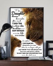 POSTER - TO MY DAUGHTER - LION - ALWAYS 16x24 Poster lifestyle-poster-2