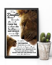POSTER - TO MY DAUGHTER - LION - ALWAYS 16x24 Poster lifestyle-poster-8