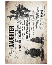 Daughter - Fishing - Wherever Your Journey In  16x24 Poster front