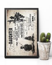 Daughter - Fishing - Wherever Your Journey In  16x24 Poster lifestyle-poster-8