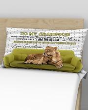 Grandma to Grandson - I Am The Storm - Pillowcase Rectangular Pillowcase aos-pillow-rectangular-front-lifestyle-02