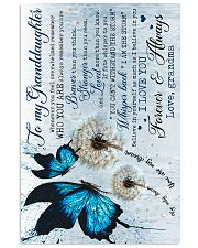 Grandma to Granddaughter - Believe In Yourself  16x24 Poster front