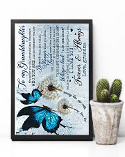 Grandma to Granddaughter - Believe In Yourself  16x24 Poster lifestyle-poster-8
