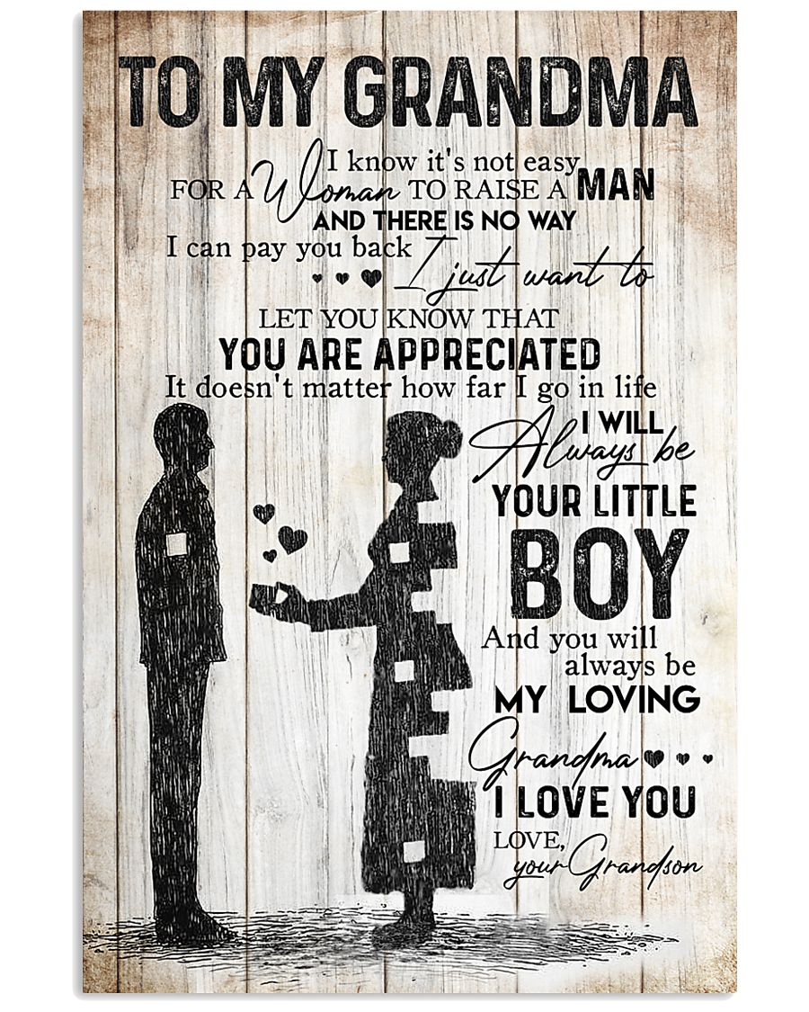 TO MY GRANDMA 16x24 Poster