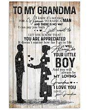 TO MY GRANDMA 16x24 Poster front