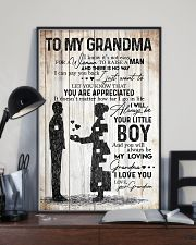 TO MY GRANDMA 16x24 Poster lifestyle-poster-2