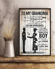 TO MY GRANDMA 16x24 Poster lifestyle-poster-3