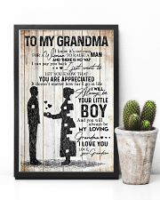 TO MY GRANDMA 16x24 Poster lifestyle-poster-8
