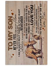 Son - Triceratops Mom - Never Feel That You  16x24 Poster front