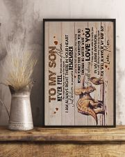Son - Triceratops Mom - Never Feel That You  16x24 Poster lifestyle-poster-3