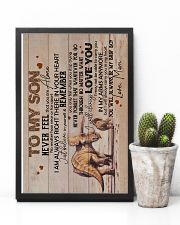 Son - Triceratops Mom - Never Feel That You  16x24 Poster lifestyle-poster-8