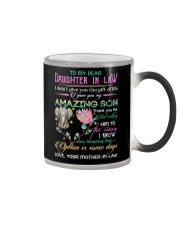 DAUGHTER-IN-LAW - PROTEA - ELEPHANT - CIRCUS Color Changing Mug thumbnail