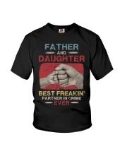 T-SHIRT - DAUGHTER - VINTAGE - PARTNER IN CRIME  Youth T-Shirt thumbnail