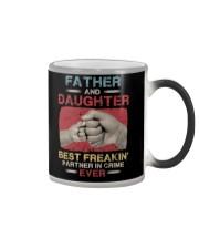 T-SHIRT - DAUGHTER - VINTAGE - PARTNER IN CRIME  Color Changing Mug thumbnail
