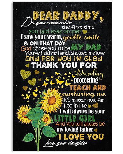 DEAR DADDY - SUNFLOWER - THANK YOU