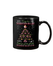 Christmas - To My Daughter-in-law - Flamingo  Mug front