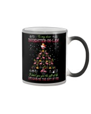 Christmas - To My Daughter-in-law - Flamingo  Color Changing Mug thumbnail
