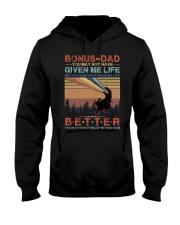 T-SHIRT - TO MY BONUS DAD - DINOSAUR Hooded Sweatshirt thumbnail