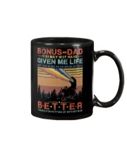 T-SHIRT - TO MY BONUS DAD - DINOSAUR Mug thumbnail