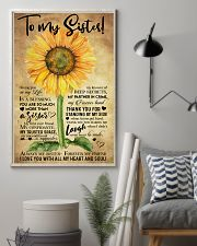 TO MY SISTER - SUNFLOWER - ALWAYS MY SISTER  16x24 Poster lifestyle-poster-1