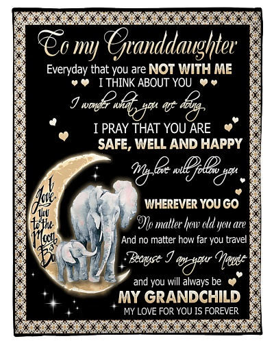 TO MY GRANDDAUGHTER - ELEPHANTS - MY LOVE FOR YOU