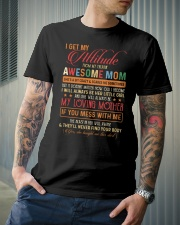 MY LOVING MOTHER Classic T-Shirt lifestyle-mens-crewneck-front-6