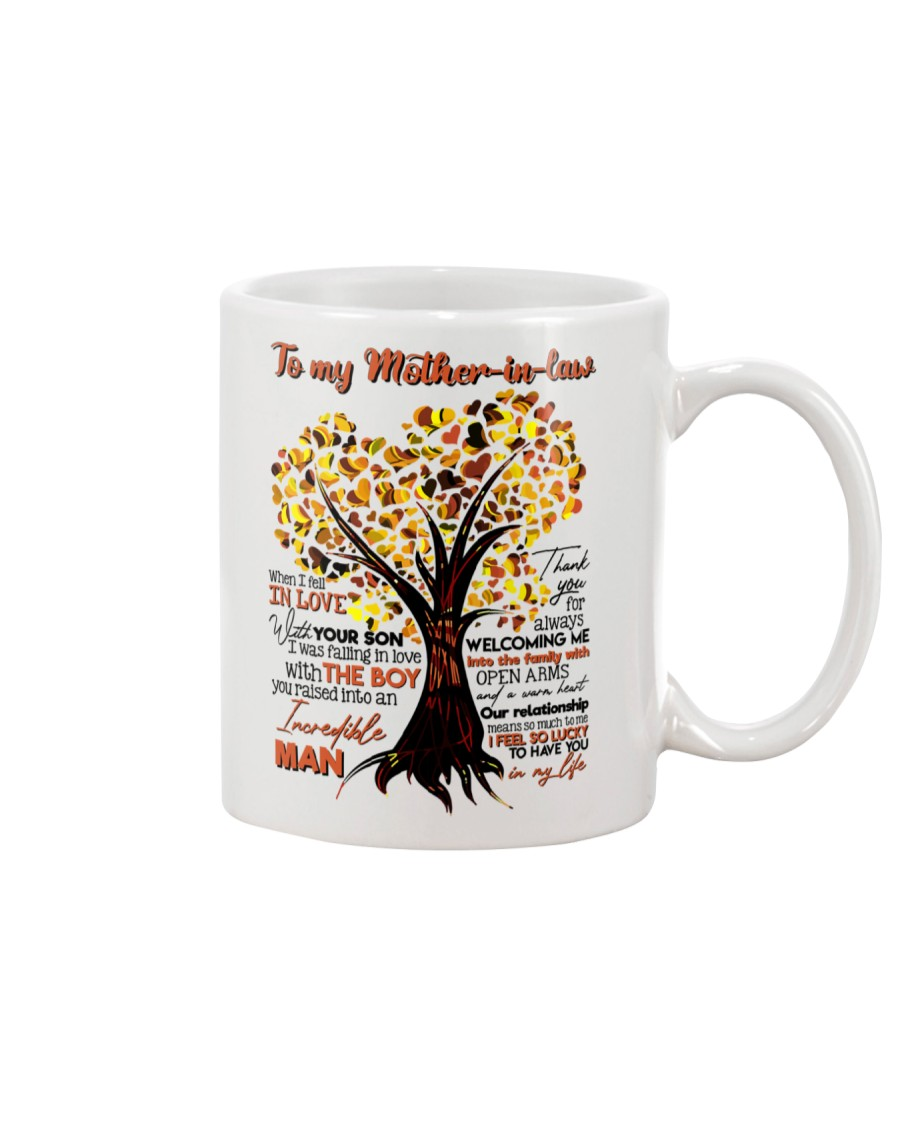 TO MY MOTHER-IN-LAW - TREE - THANK YOU Mug
