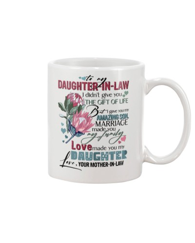 TO MY DAUGHTER-IN-LAW - PROTEA - GIFT OF LIFE