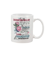 TO MY DAUGHTER-IN-LAW - PROTEA - GIFT OF LIFE Mug front