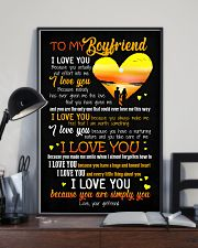 POSTER - TO MY BOYFRIEND - HEART - I LOVE YOU 16x24 Poster lifestyle-poster-2