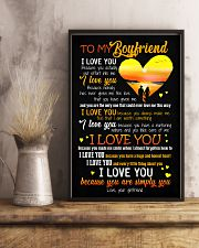 POSTER - TO MY BOYFRIEND - HEART - I LOVE YOU 16x24 Poster lifestyle-poster-3