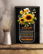 Grandma to Granddaughter - Who You Are - Poster  16x24 Poster lifestyle-poster-3