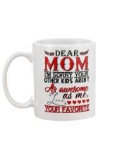 DAUGHTER TO MOM Mug back
