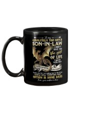 To My Top-notch Son-in-law - Dragon - Circus Mug back