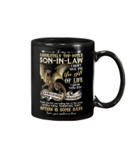 To My Top-notch Son-in-law - Dragon - Circus Mug front