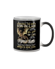 To My Top-notch Son-in-law - Dragon - Circus Color Changing Mug thumbnail