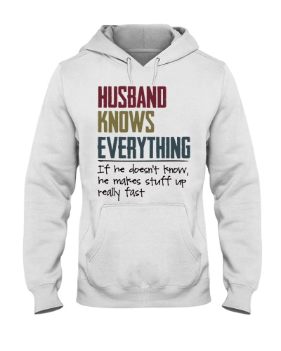 Husband Knows everything If he doesn't know