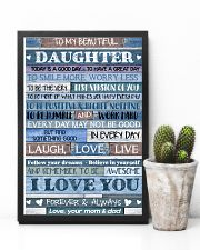MOM AND DAD TO DAUGHTER 16x24 Poster lifestyle-poster-8