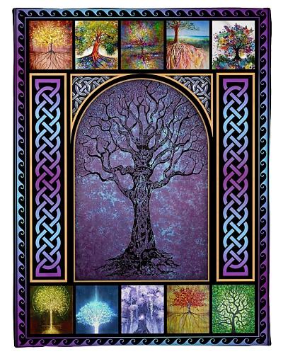 FLEECE BLANKET - FAMILY - TREE